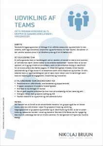 Udvikling af teams